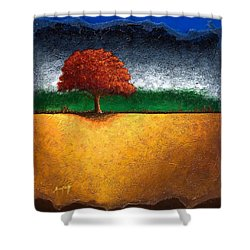 Tree Of Life Shower Curtain by Mauro Celotti