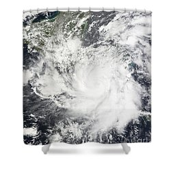 Tropical Storm Alma Shower Curtain by Stocktrek Images