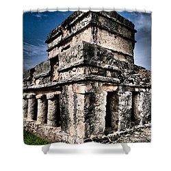 Tulum Ruinas 1 Shower Curtain by Skip Hunt