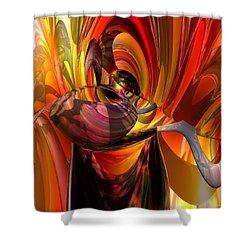 Twisted Jester Fx  Shower Curtain by G Adam Orosco