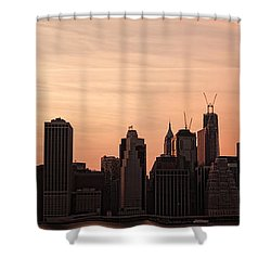 Urban Dreaming Shower Curtain by Andrew Paranavitana