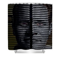 Vented Shower Curtain by Christopher Gaston