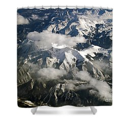 View From Above Shower Curtain by Patricia Griffin Brett