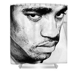 Vince Carter Shower Curtain by Tamir Barkan