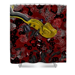 Violinelle - V02-12a Shower Curtain by Variance Collections