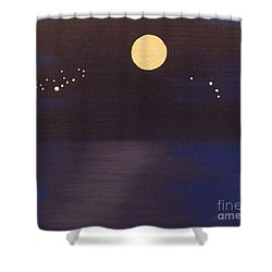 Virgo And Aries Shower Curtain by Alys Caviness-Gober