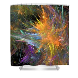 Vivaz Shower Curtain by RochVanh