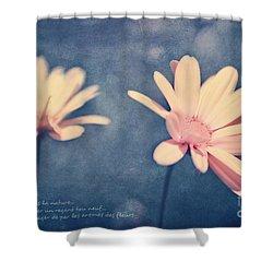 Voyager De Par Les Aromes Des Fleurs Shower Curtain by Aimelle