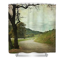 Walk Of Life Shower Curtain by Laurie Search