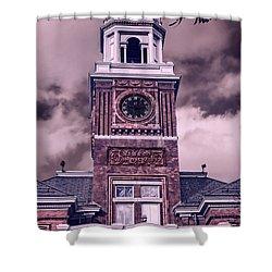 Warwick City Hall Shower Curtain by Lourry Legarde