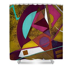 Wassail Shower Curtain by Terry James