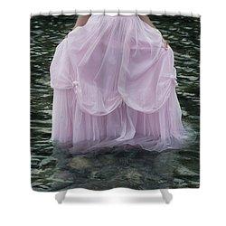 Water Bride Shower Curtain by Joana Kruse
