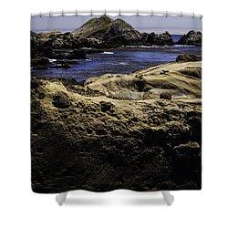 Weathering The Sea Shower Curtain by Jo-Anne Gazo-McKim
