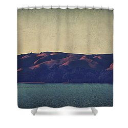 What The Shadows Hide Shower Curtain by Laurie Search