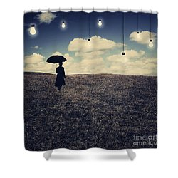 What You Don't Want To See Shower Curtain by Aimelle