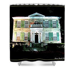 Whitehern Historic House And Garden Shower Curtain by Danielle  Parent