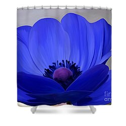 Windflower Shower Curtain by Patricia Griffin Brett
