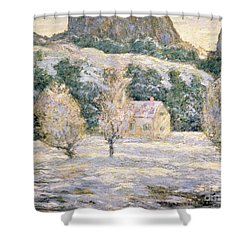 Winter Shower Curtain by Ernest Lawson