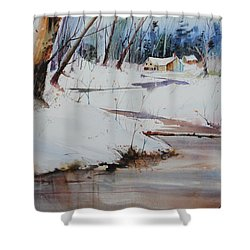 Winter Wonders Shower Curtain by P Anthony Visco