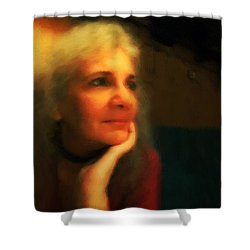 Wistful Shower Curtain by RC DeWinter