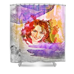 Woman's Soul Part 2 Shower Curtain by Mo T