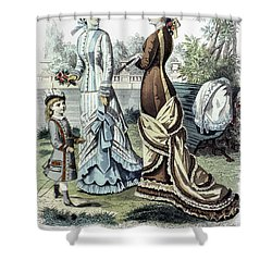 Womens Fashion, 1877 Shower Curtain by Granger