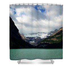 Wonderland Of Lake Louise Shower Curtain by Karen Wiles