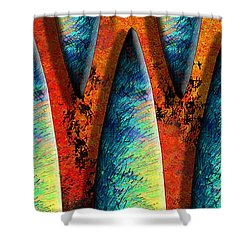 World Wide Web Shower Curtain by Paul Wear