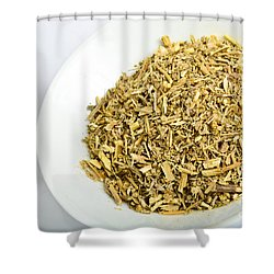 Wormwood Shower Curtain by Photo Researchers