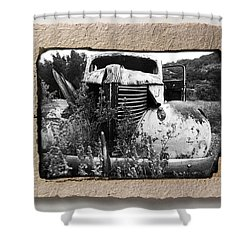 Wreck 1 Shower Curtain by Mauro Celotti