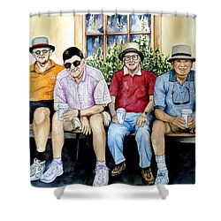 Wwii Heroes Shower Curtain by Candy Yu