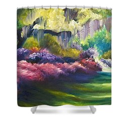 Wysteria Lane Shower Curtain by James Christopher Hill