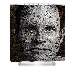 You Rock Shower Curtain by Christopher Gaston