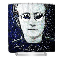 You Say Its Your Birthday Shower Curtain by Alec Drake
