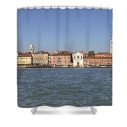 Zattere - Venice Shower Curtain by Joana Kruse
