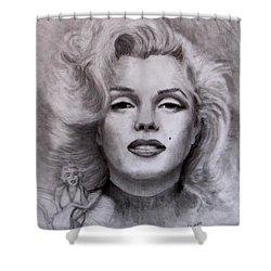 Marilyn Shower Curtain by Jack Skinner