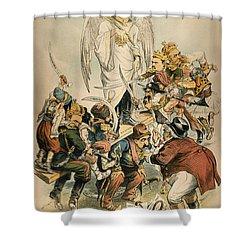 Otto Von Bismarck Shower Curtain by Granger