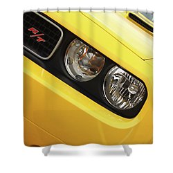 2011 Dodge Challenger Rt Shower Curtain by Gordon Dean II