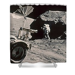 Apollo 17, December 1972: Shower Curtain by Granger