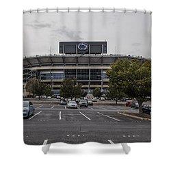 Beaver Stadium Penn State  Shower Curtain by John McGraw