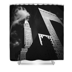 Chrysler Building - New York City Shower Curtain by Vivienne Gucwa