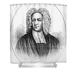 Cotton Mather (1663-1728) Shower Curtain by Granger