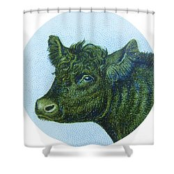Cow I Shower Curtain by Desiree Warren