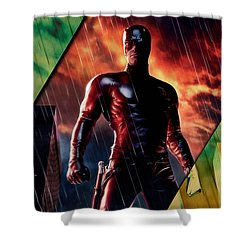 Daredevil Collection Shower Curtain by Marvin Blaine