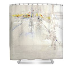 Early Winter In Manhattan Shower Curtain by Jack Diamond