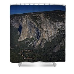 El Capitan  Shower Curtain by Rick Berk