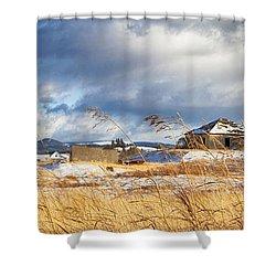 Forgotten Farmhouse Shower Curtain by Theresa Tahara