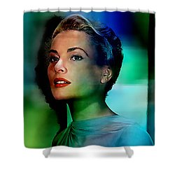 Grace Kelly Shower Curtain by Marvin Blaine