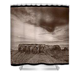 Grandview Canyonlands National Park Utah Shower Curtain by Steve Gadomski