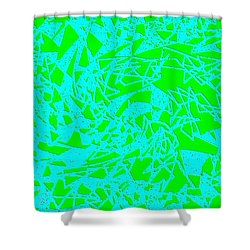 Harmony 8 Shower Curtain by Will Borden